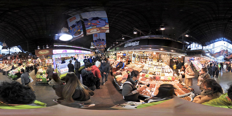 [키미션360]바르셀로나 보케리아 시장