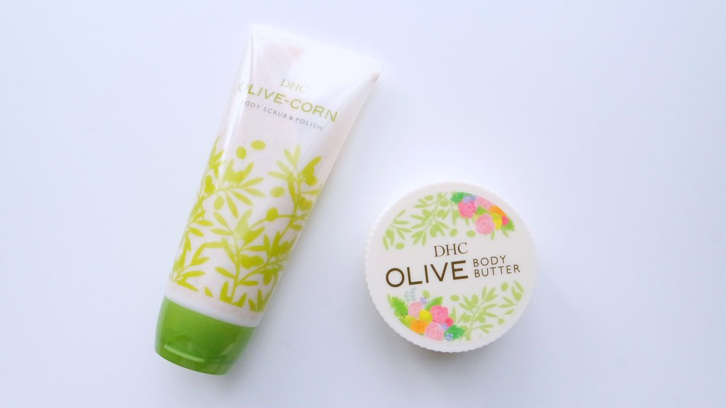 DHC Olive Body Scrub and Body Butter