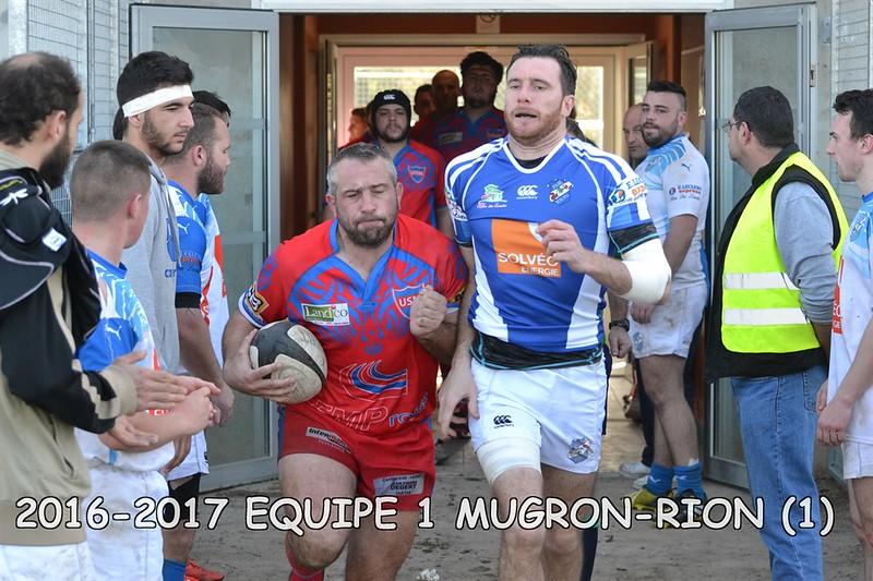 2016-2017 SENIORS 1 MUGRON-RION