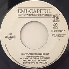 KC AND THE SUNSHINE BAND & KOOL & THE GANG:CASPER, THE FRIENDLY GHOST(LABEL SIDE-A)