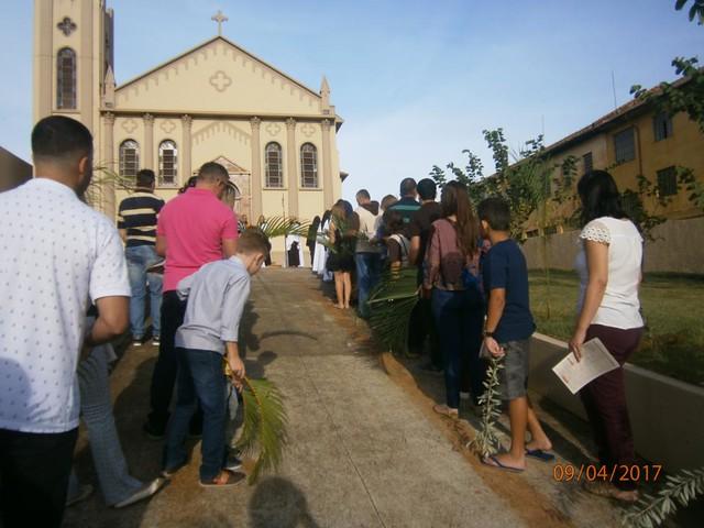 Domingo de Ramos em Jacarezinho/PR