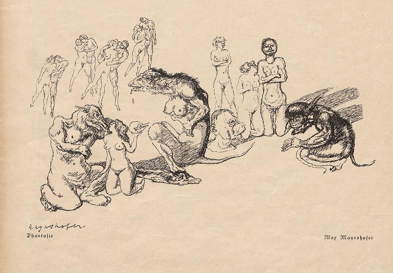 Max Mayrshofer - Phantasie, 1927