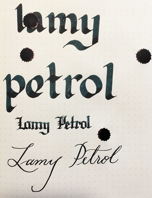 Ink Shot Review Lamy Petrol @Fontoplum0 @Lamy 14