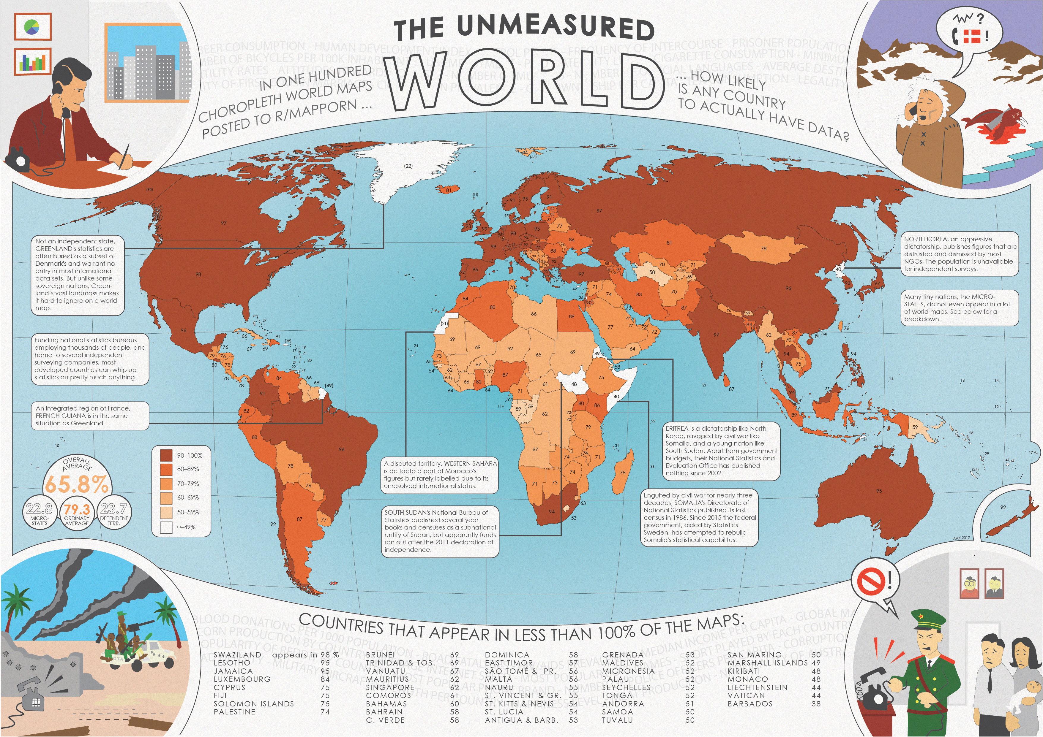 In 100 statistical maps posted to mapporn how likely is any country heres gumiabroncs Gallery