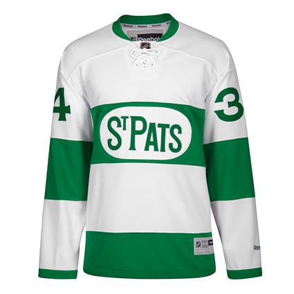 Toronto Maple Leafs St Pats 2016-17 F jersey