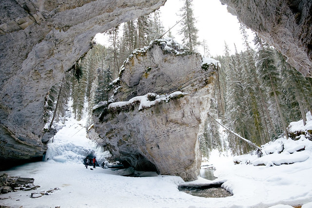 Johnston Canyon-5