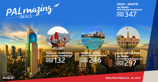 Palmazing Deals to Hong Kong