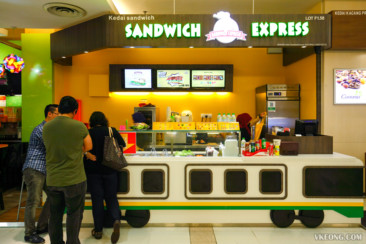Sandwich Express Sunway Pyramid