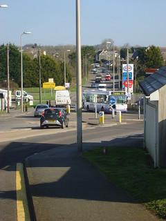 First Cymru bus in Johnston