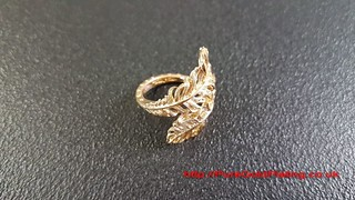 Gold Plated Ring | by PureGoldPlating