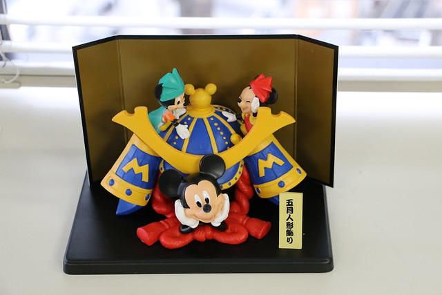 ベルメゾン五月人形 ディズニー