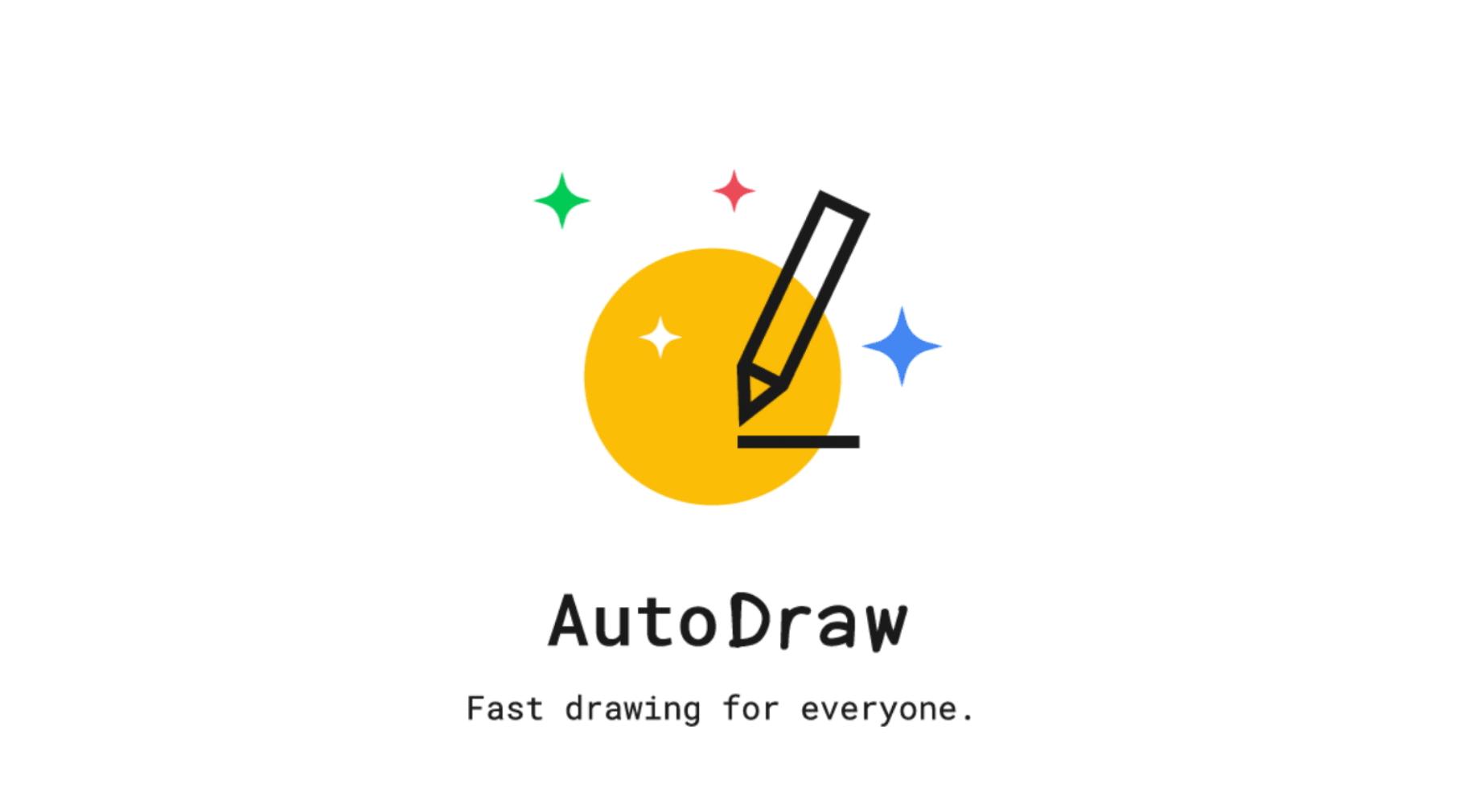 イラスト・挿絵・アイコンなどの作成に使える「AutoDraw」