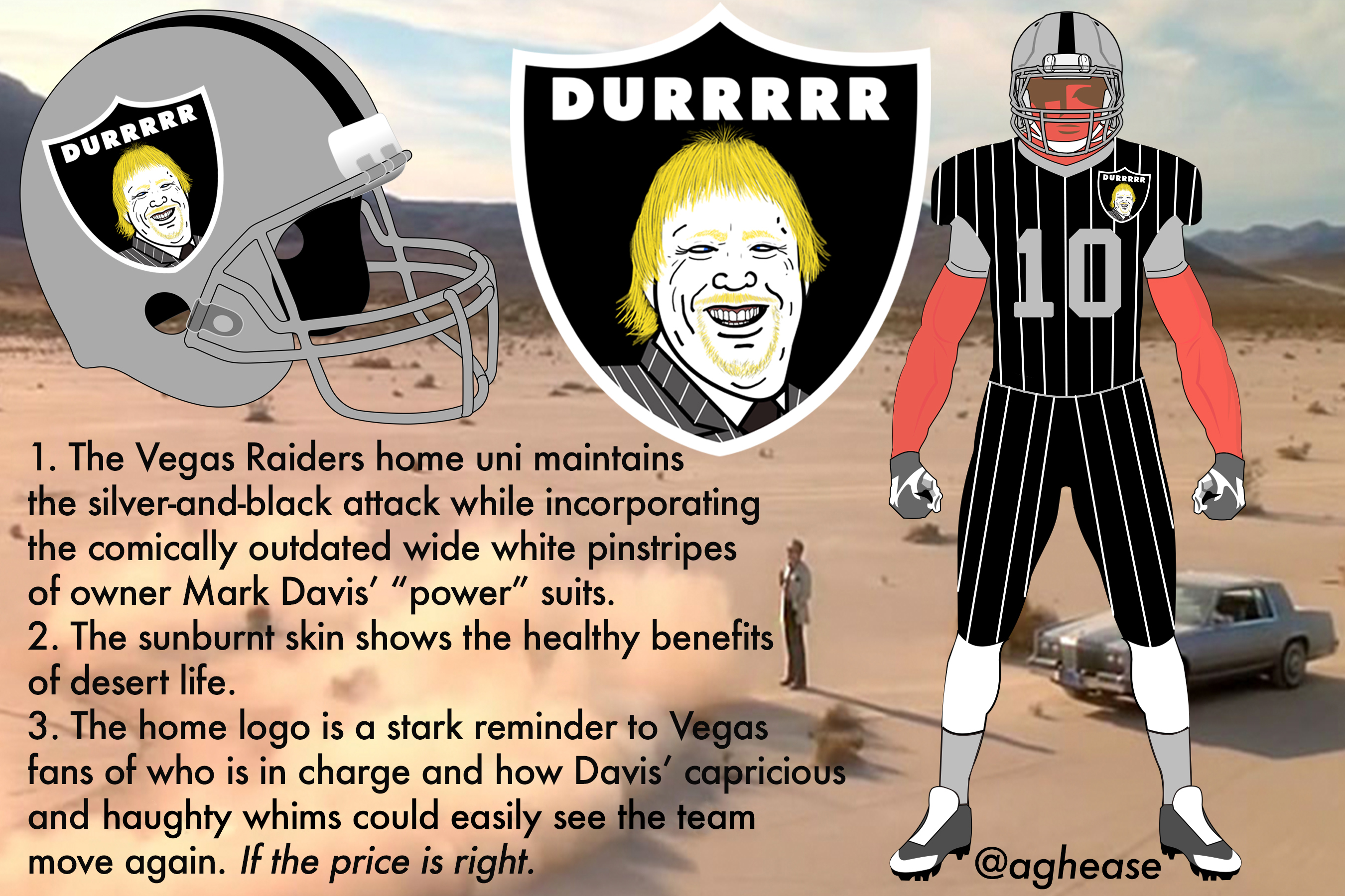 dd7eb4f5847 Uni Watch presents the best fan-designed Raiders uniforms
