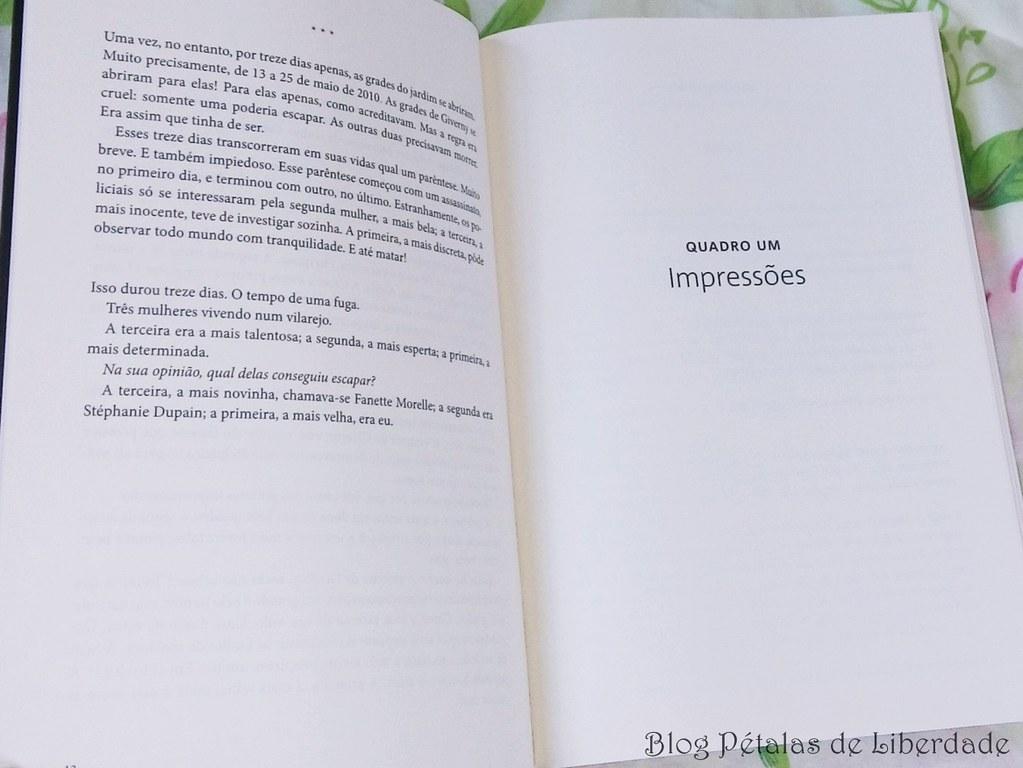 Resenha, livro, Ninfeias-negras, Michel-Bussi, editora-arqueiro, monet, opiniao, critica, fotos, diagramação, trechos, quote, giverny, romance-policial