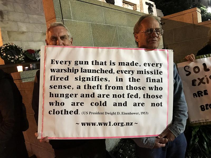 ANZAC Day Peace Vigil