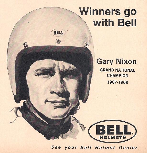 Bell helmets Gary Nixon
