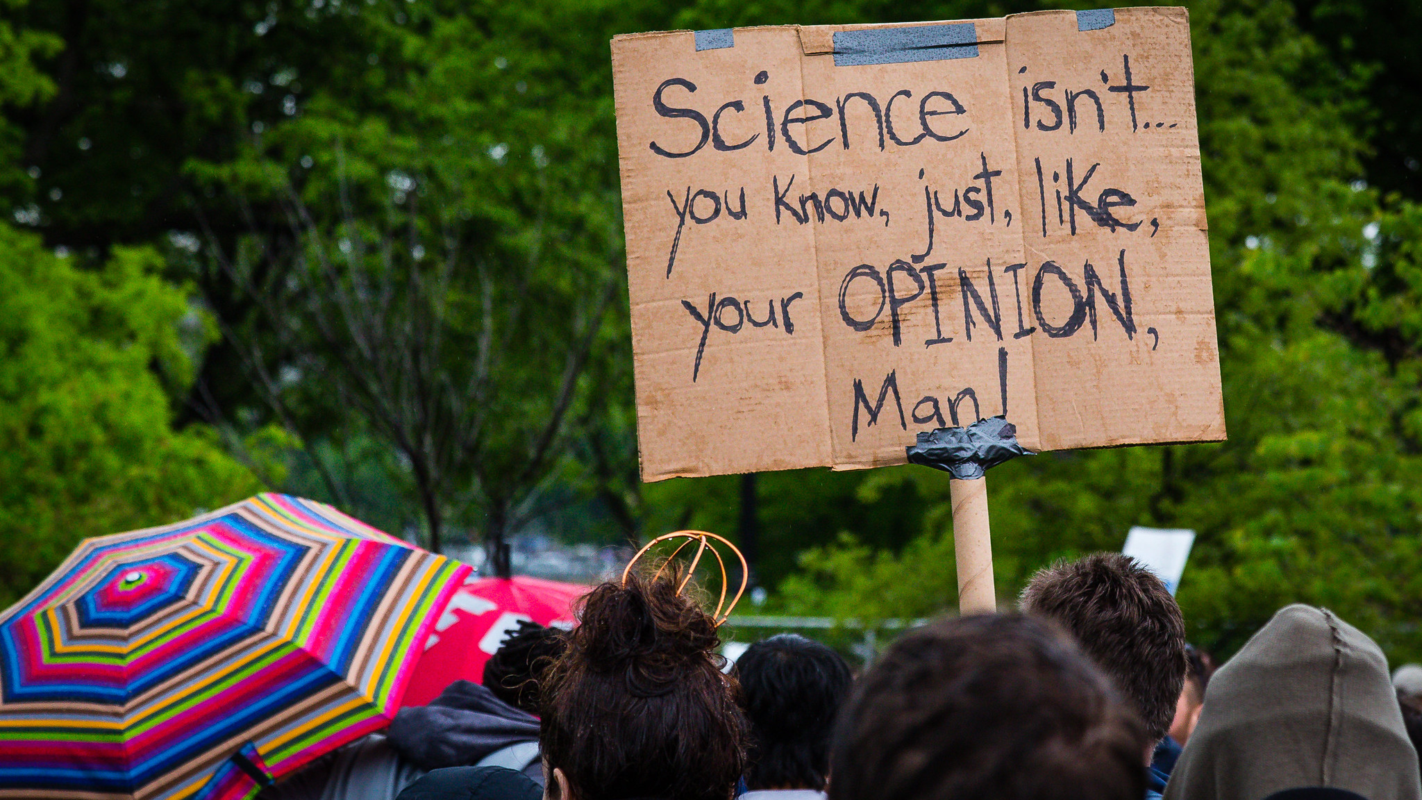 March for Science Not Opinion