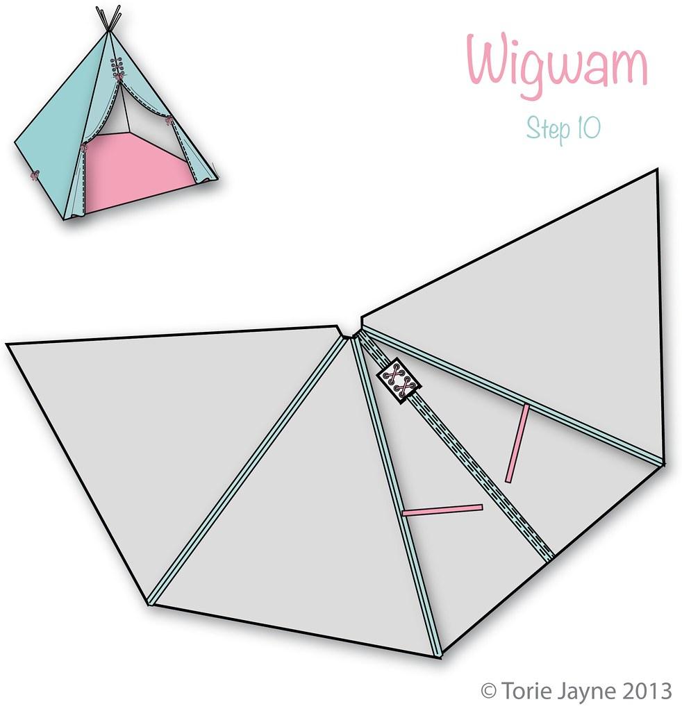 wigwam step 10 blogged at torie blog facebook tw toriejayne flickr. Black Bedroom Furniture Sets. Home Design Ideas