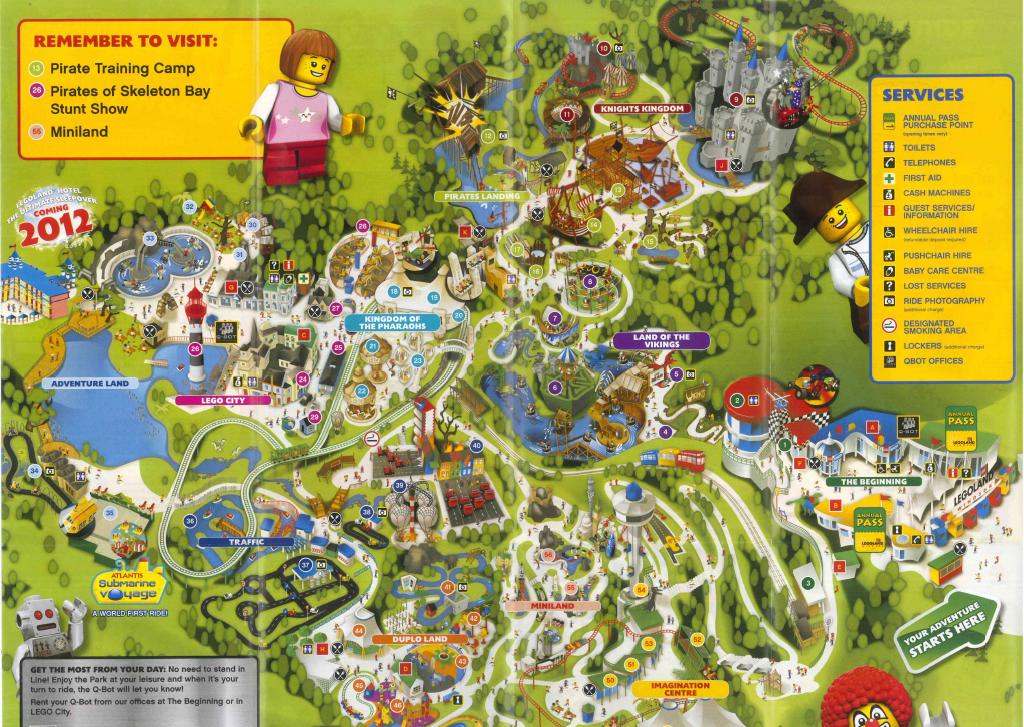 Legoland Windsor Park Map Legoland Windsor Park Flickr - Windsor map