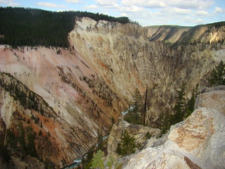 102 Yellowstone canyon