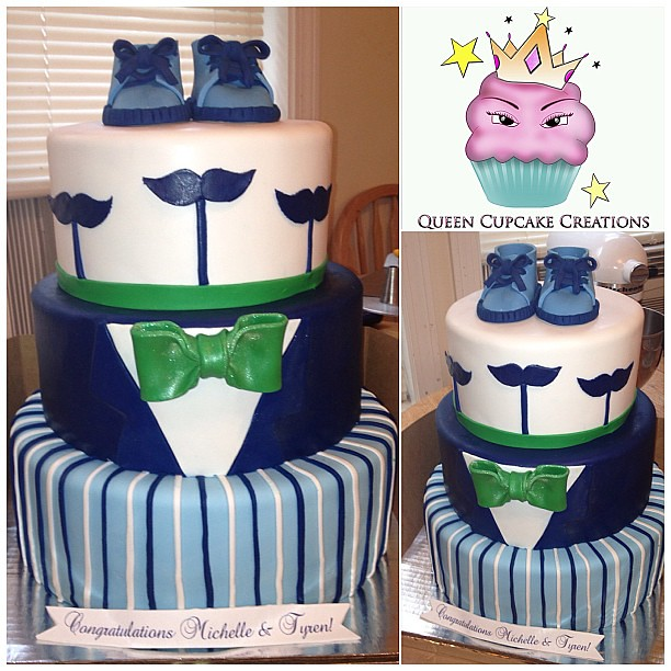 lil man baby shower cake queencupcakecreations lisa daniel flickr
