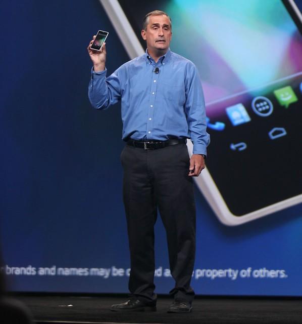 Intel CEO Brian Krzanich keynote at IDF13