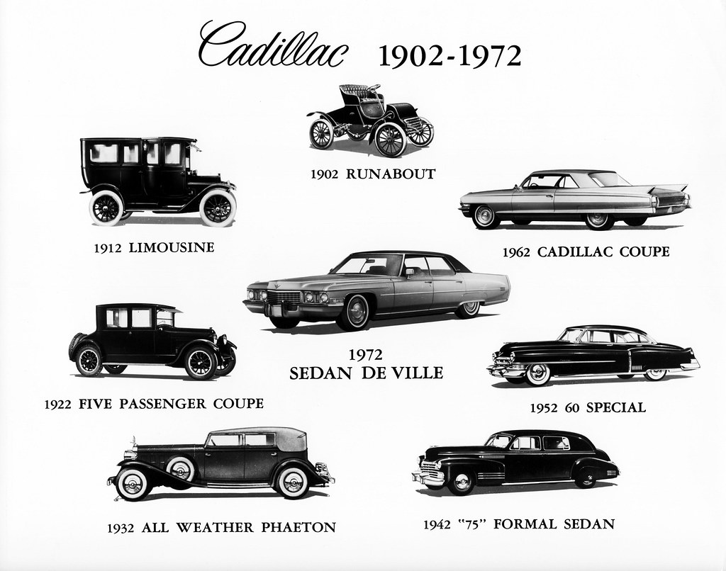 Cadillac Evolution 1902 to 1972 | Alden Jewell | Flickr