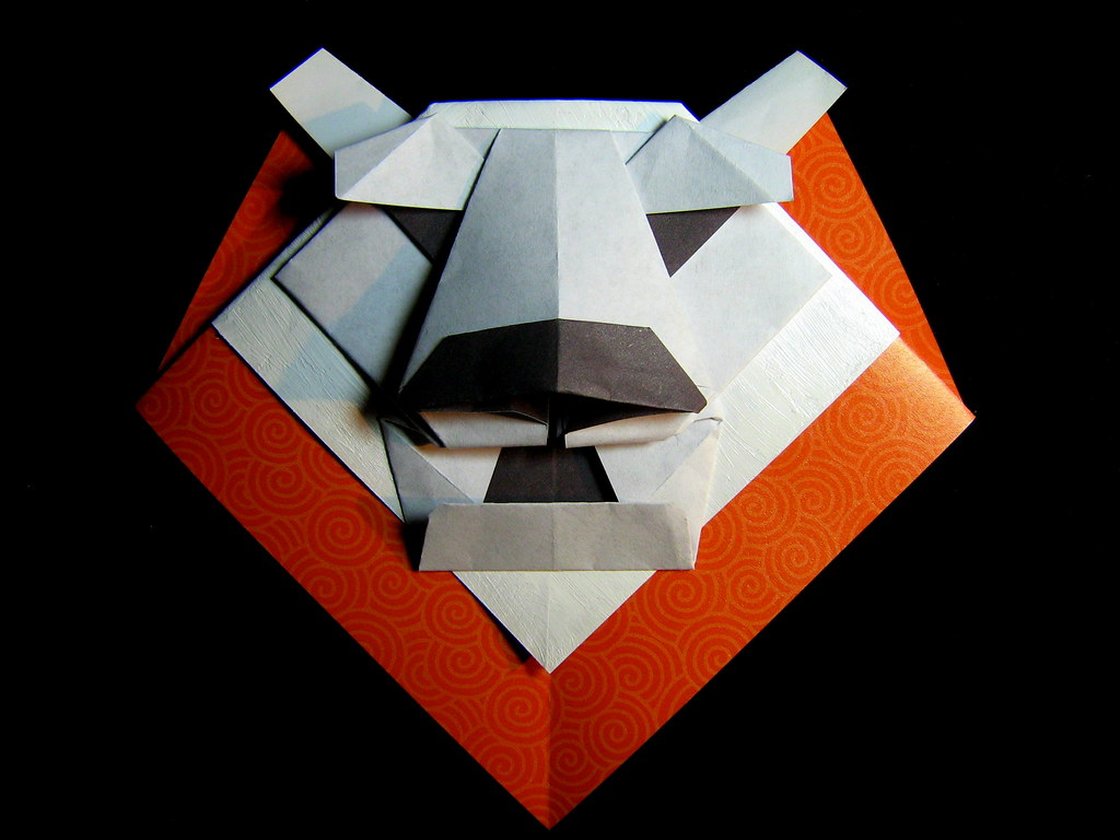 Origami Lion Mane Kunihiko Kasahara