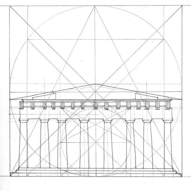 drawing buildings  centreline symmetry  u0026 proportion  3