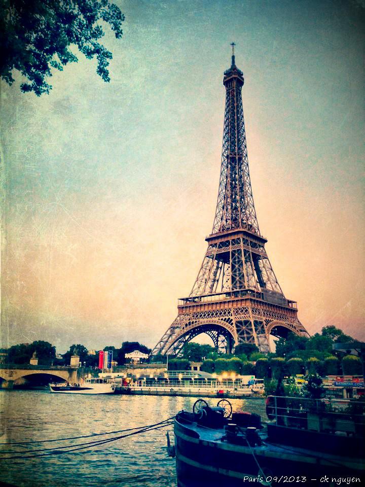 vintage eiffel tower tumblr - photo #32