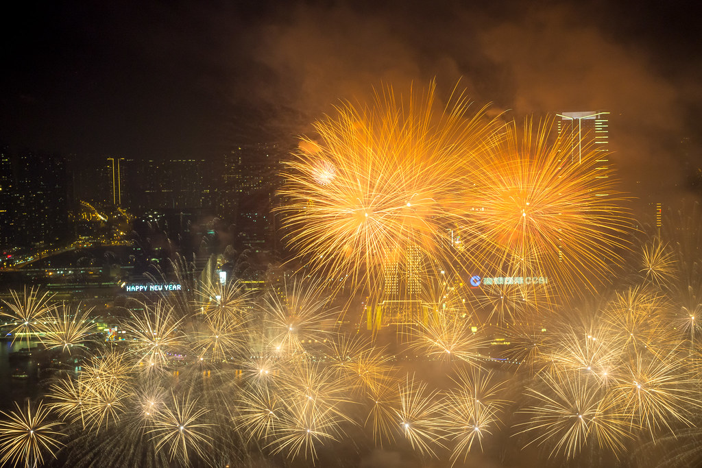 happy new year 2014 hong kong by jerome taylor