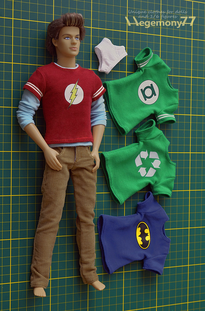 1/ 6 scale Sheldon Cooper - The Big Bang Theory inspired c ...