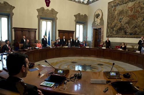 Consiglio dei Ministri - fonte Palazzo Chigi