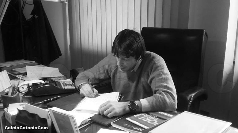 Roberto Ricca, un calciatore con la penna...