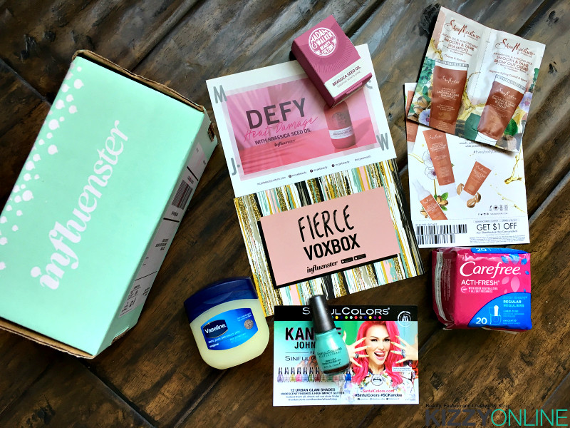 Influenster Fierce VoxBox Vox Box