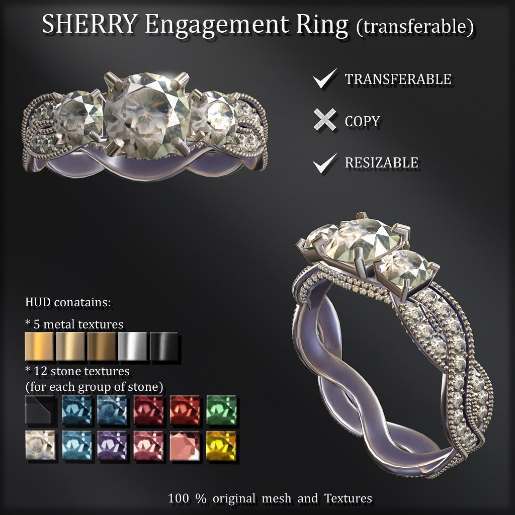 SHERRY Ring (transferable) ads