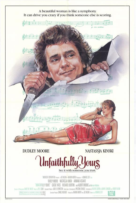 Unfaithfully Yours - 1984 - Poster 3
