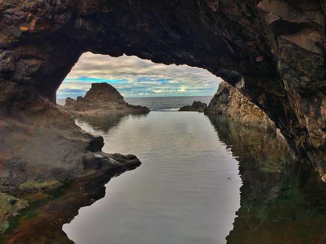 Piscina natural de Seixal en Madeira
