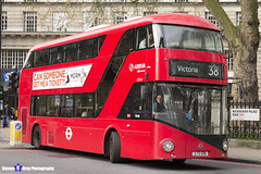 Wrightbus NRM NBFL - LTZ 1216 - LT216  Victoria 38 - Arriva London - London 2017 - Steven Gray - IMG_8224