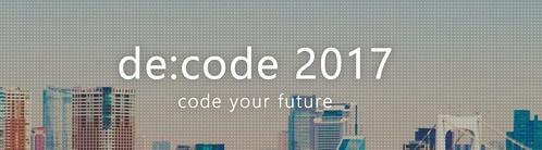 「de:code 2017」の画像検索結果