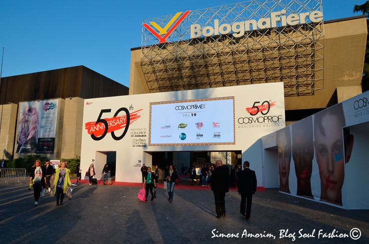 COSMOPROF Worldwide Bologna, o maior evento internacional dedicado as últimas tendências da beleza. Esse ano completando 50 anos!