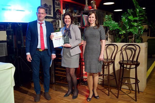 Arany fokozatú munkáltatói díjat kapott a VELUX Magyarország Kft.