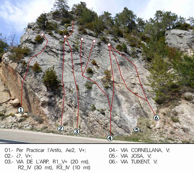 La Vall de Lord -09- Sector Coll de Port -02- Subsector Agulla del Coll del Port-03- Izquierda -2017
