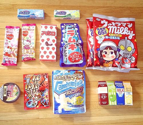 日本のお菓子