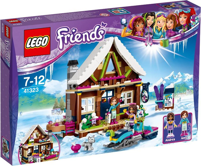 LEGO Friends Snow Resort Chalet (41323)