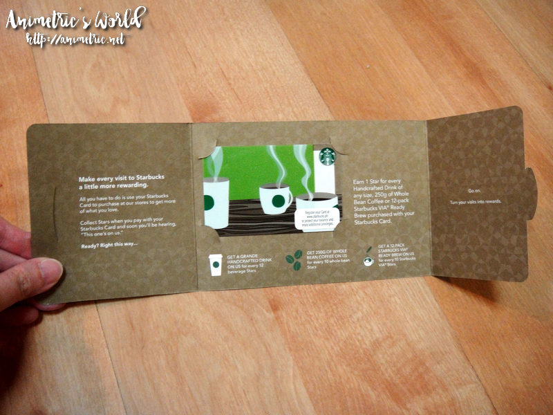 Starbucks Card Philippines - turn your visits to rewards ...