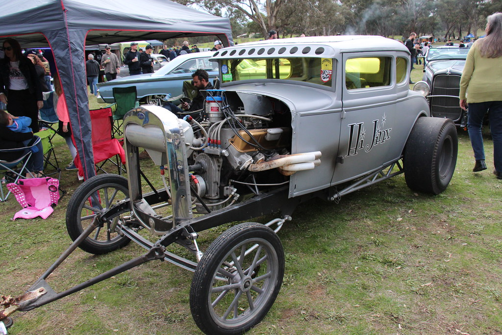 1931 Ford Model A Coupe Gasser The Model A Built From