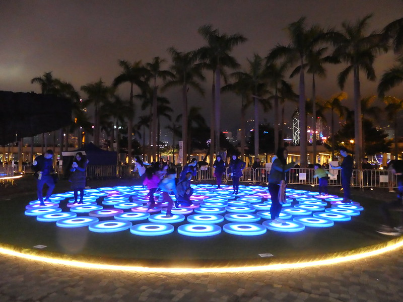 Super Pools Art Installation, Hong Kong