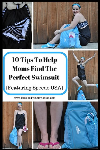 10 Tips To Help Moms Find The Perfect Swimsuit {Featuring Speedo USA} #MomSuits #ad