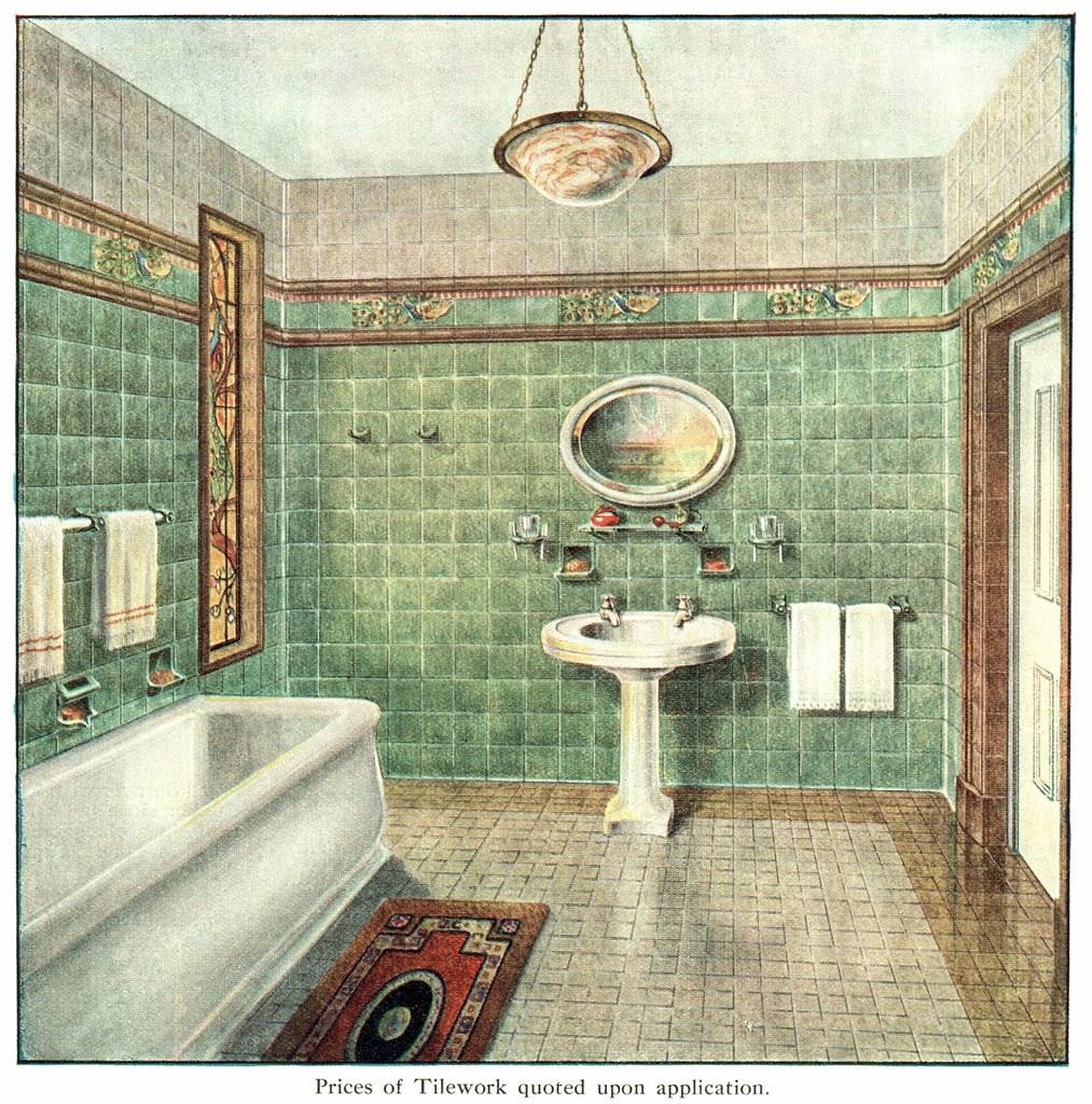 1930 Bathroom Richards Tiles Amp Armitage Ware Tiles And